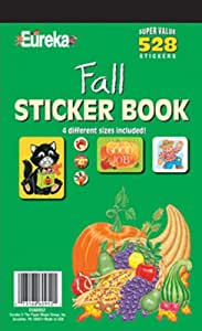 Eureka Fall Sticker Book