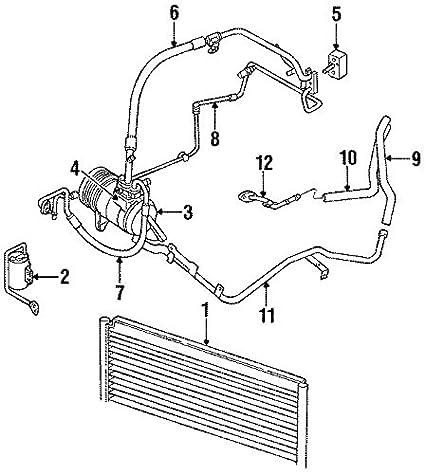 Amazon Com Mopar 4677165 Discharge Line Automotive