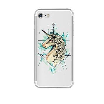 coque iphone 6 drole licorne