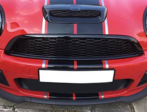 Cosmos Performance CR6MG Front Grille Set Gloss Black Painted for Mini Cooper S/SD/JCW R55/R56/R57/R58/R59 07-13 (not for Aero-Kit)