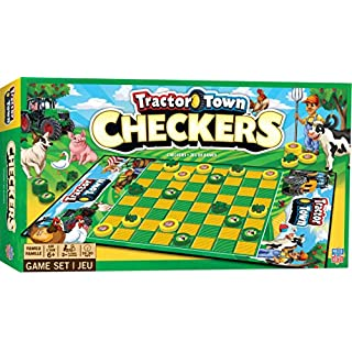 MasterPieces Tractor Town - Checkers, Assorted
