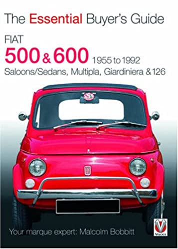 fiat 500 600 1955 to 1992 the essential buyer s guide malcolm rh amazon com fiat 500 pop user manual fiat 500 user manual 2014