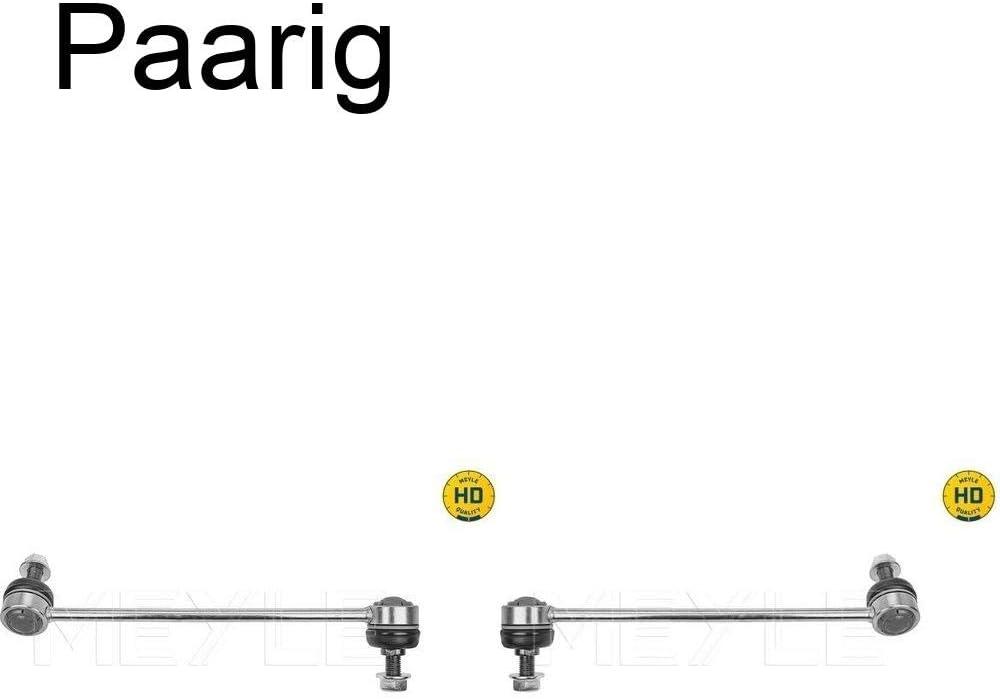 2x Meyle Koppelstange Stabilisator Strebe Vorderachse links+rechts