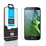 SOJITEK Acer Liquid Zest Plus Premium Ballistic Tempered Glass Screen Protector with Lifetime Replacement Warranty - High Definition (HD) Ultra Clear 99.99% Clarity and Touchscreen Accuracy Smart Film
