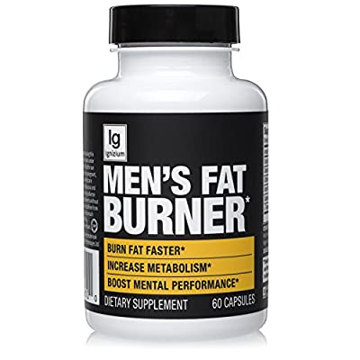 Thermogenic Green Tea Fat Burner Pills - Burn Belly Fat, Suppress Diet, Control Appetite, Energy / Metabolism Booster. Contains Capsicum Extract, Stomach Weight Loss For Men – 30 Servings, Ignizium.