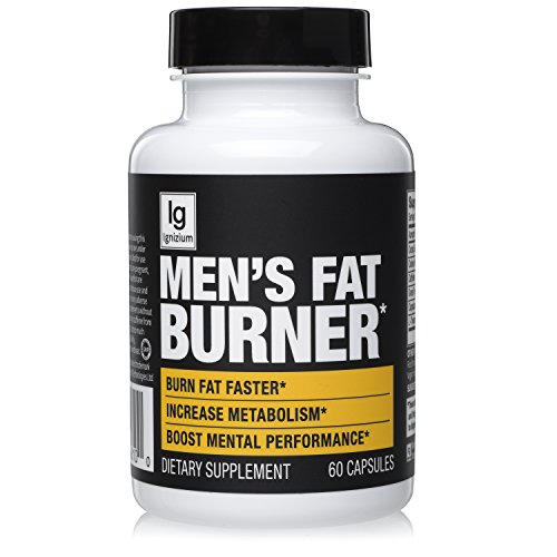Thermogenic Green Tea Fat Burner Pills - Burn Belly Fat, Suppress Diet, Control Appetite, Energy / Metabolism Booster. Contains Capsicum Extract, Stomach Weight Loss For Men – 60 Servings, Ignizium.