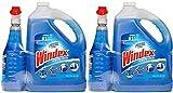 Windex LXENDTYE Original Glass Cleaner (128 oz. Refill + 32 oz. Trigger), 2 Pack