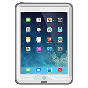 LifeProof Original Case 1901-02 for Apple iPad Air (Nuud Series), Retail Packaging - White/Glacier
