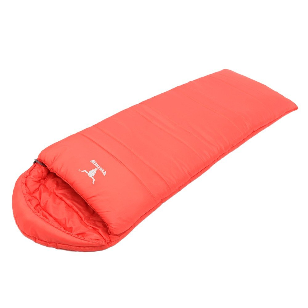 Joyshopping Lightweight Envelope Style Outdoor Camping Hollow Fiber Double Layers Adult Sleeping Bag by Joyshopping