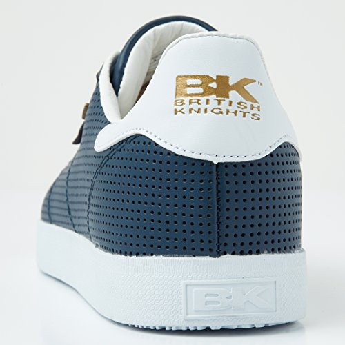 British Knights Halbschuh Herren Sneaker Navy Point White 1PBqx1