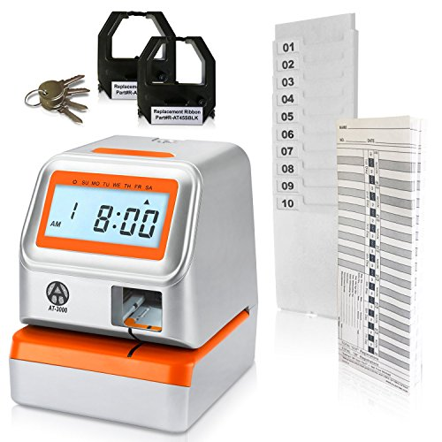 AT-3000 Digital Time Clock and Date Stamp