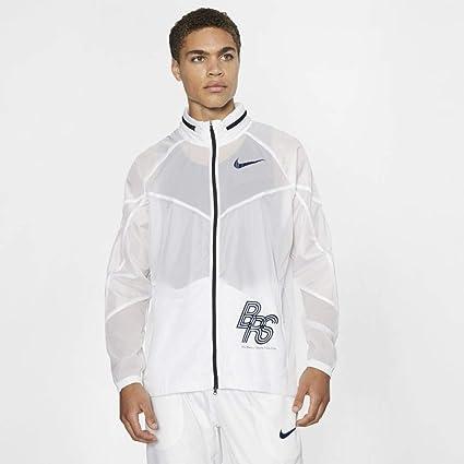 Nike U NK Track JKT BRS Veste Mixte Adulte, BlancBleu