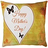 EOWEO Happy Mother's Day Sofa Bed Home Decoration Festival Pillow Case Cushion Cover(43cm×43cm,D)