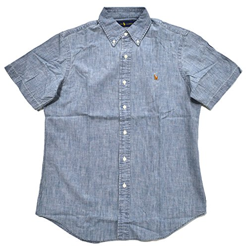RALPH LAUREN Polo Mens Short Sleeve Oxford Button Down Shirt