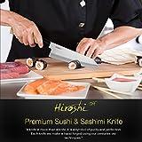 Hiroshi Nakamoto 4 Piece Sushi & Sashimi Chef Knife Set