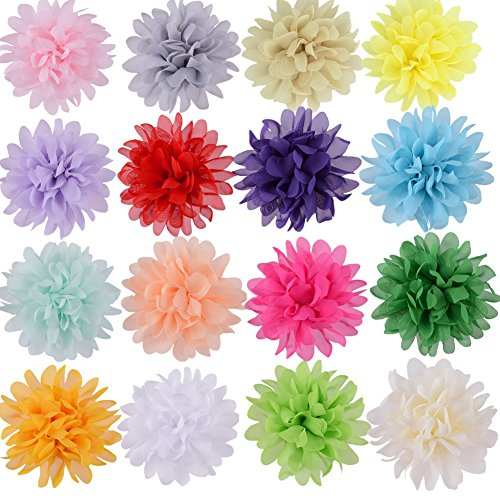 Hair Flower Bow (GBATERI 18 Pack Baby Girls 4
