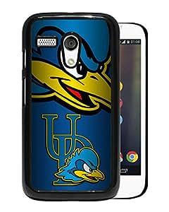 NCAA Delaware Fightin Blue Hens Black Customize Motorola Moto G Phone Cover Case