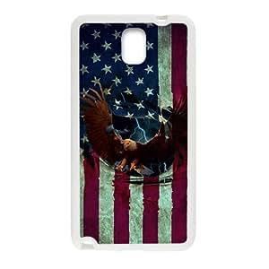 SANYISAN American Eagle Flag White Samsung Galaxy Note3 case