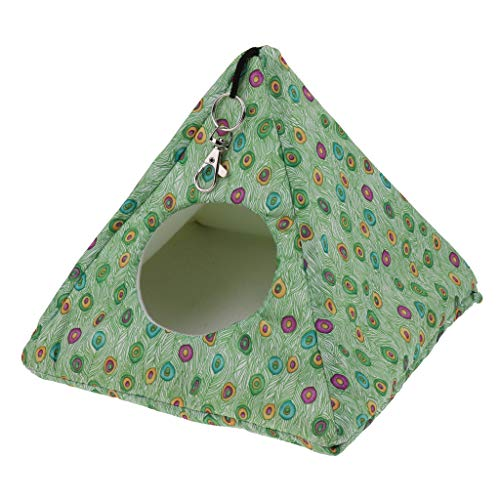 MagiDeal Triangle Hammock House Ferret Rabbit Guinea Pig Rat Hamster Mice Bed Toy