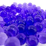 JellyBeadZ Party Planner Purple -1- Pound Bag Water Beads Pearls- Used for Weddings and Centerpieces Purple