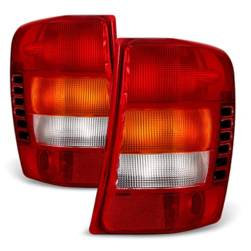 ACANII - For 1999-2004 Jeep Grand Cherokee Tail Brake Lights Lamps w/Circuit Board Left+Right