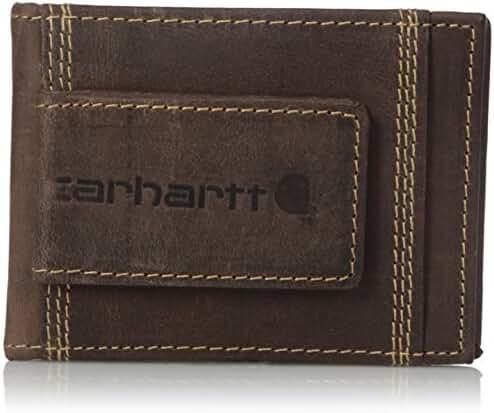 Carhartt Men's Detroit RFID Blocking Magnetic Card Holder