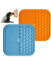 KILIN Lick Mat for Dogs,Lick Pad with Strong Suction Cups,Boredom&Anxiety Reducer,Dog Mat Fun Alternative Slow Feeder Dog Bowls,Dog Toys for Peanut Butter&yogurt,Snuffle Mat Perfect for Pet Bathing,Grooming,and Dog Training