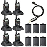BaoFeng UV-5R Ham Radio(6 Pack)