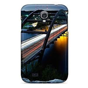 Galaxy S4 Case Cover Skin : Premium High Quality Bridge In Moonlight Case
