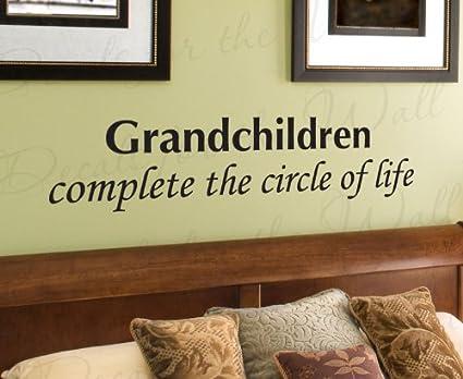Amazon.com: Grandchildren Complete the Circle of Life Grandparent ...