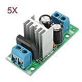 5Pcs L7812 LM7812 Three Terminal Voltage Regulator Module 12V Voltage Regulator Module Rectifier Filter Power Converter - Arduino Compatible SCM & DIY Kits