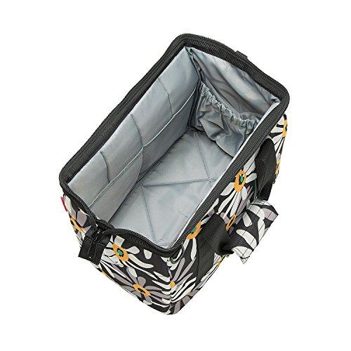 Reisenthel MS7033 Einkaufstasche, Allrounder 18 Liter (40X33.5X24 cm) M, graphite Margarite