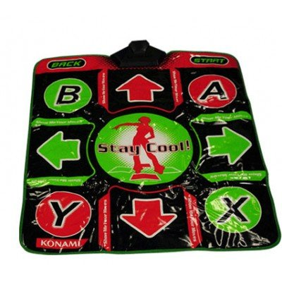 Xbox 360 Dance Dance Revolution DDR Original Konami Dance Pad (Best Xbox 360 Workout Games)