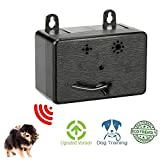 BIG DEAL Mini Outdoor Anti Barking Device Ultrasonic Dog Bark Control Sonic Bark Deterrents Silencer with Provisions for Hanging or Mounting
