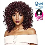 Outre Quick Weave Complete Cap Curly Bang Dawn (1B)