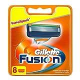 Gillette Fusion Rasierklingen, 8 Stück, briefkaste…