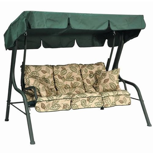 3 seater palma hammock swing seat with canopy   green cushions  amazon co uk  garden  u0026 outdoors 3 seater palma hammock swing seat with canopy   green cushions      rh   amazon co uk