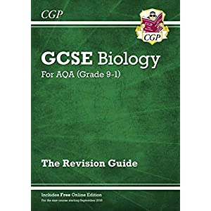 Grade 9-1 GCSE Biology: AQA Revision Guide with Online Edition – Higher (CGP GCSE Biology 9-1 Revision)Paperback – 7 Jun. 2016
