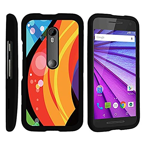 Motorola Moto G 3rd Gen Case, Slim Fit Snap On Cover with Unique, Customized Design for Motorola Moto G (2015) XT1540, XT1548 by MINITURTLE - Fire Under (Water Cover Motorola)