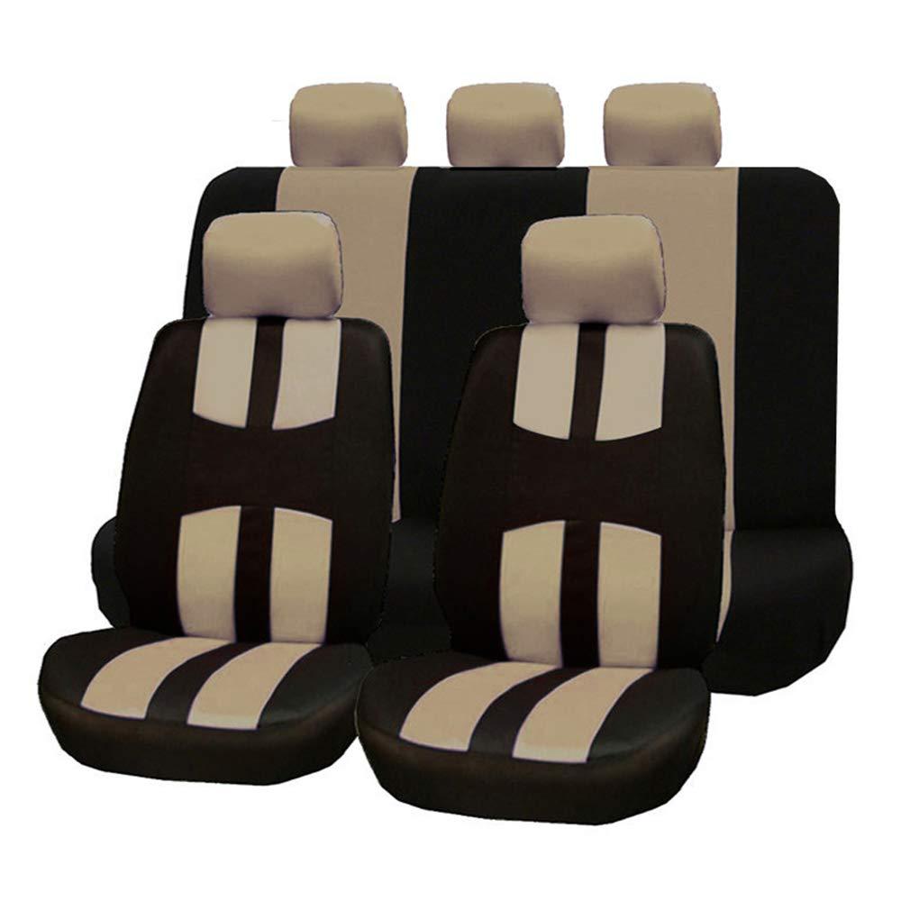 Leaftree Fundas para Asientos Fundas para Asientos Cubiertas para sillas Asientos Traseros de Moda acogedora Frente Protecci/ón Completa para el Paquete