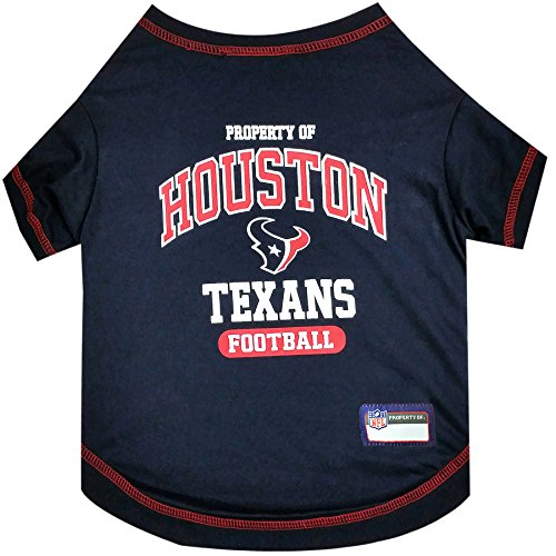 NFL HOUSTON TEXANS Dog T-Shirt, Small. - Cutest Pet Tee Shirt for the real sporty -