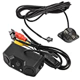 Toogoo 3 in 1 Car Parking nsors with Backup Rear Camera No Drill No Damage to Car LED Light nsor Detector Buzzer Alarm Park