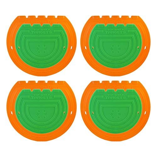 Combo Pack Magnetic Shooting Targets (Sniper 8-inch 4 Pack Set and Super Sniper 6-inch 4 Pack Set) for Hockey and Lacrosse by Top Shelf Targets | Excellent Practice Tool & Training Equipment (Frame Hockey Puck)