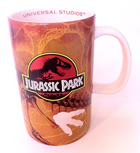 Universal Studios Jurassic Park Attraction Exclusive Dinosaur Footprints Ceramic Coffee Cup Mug