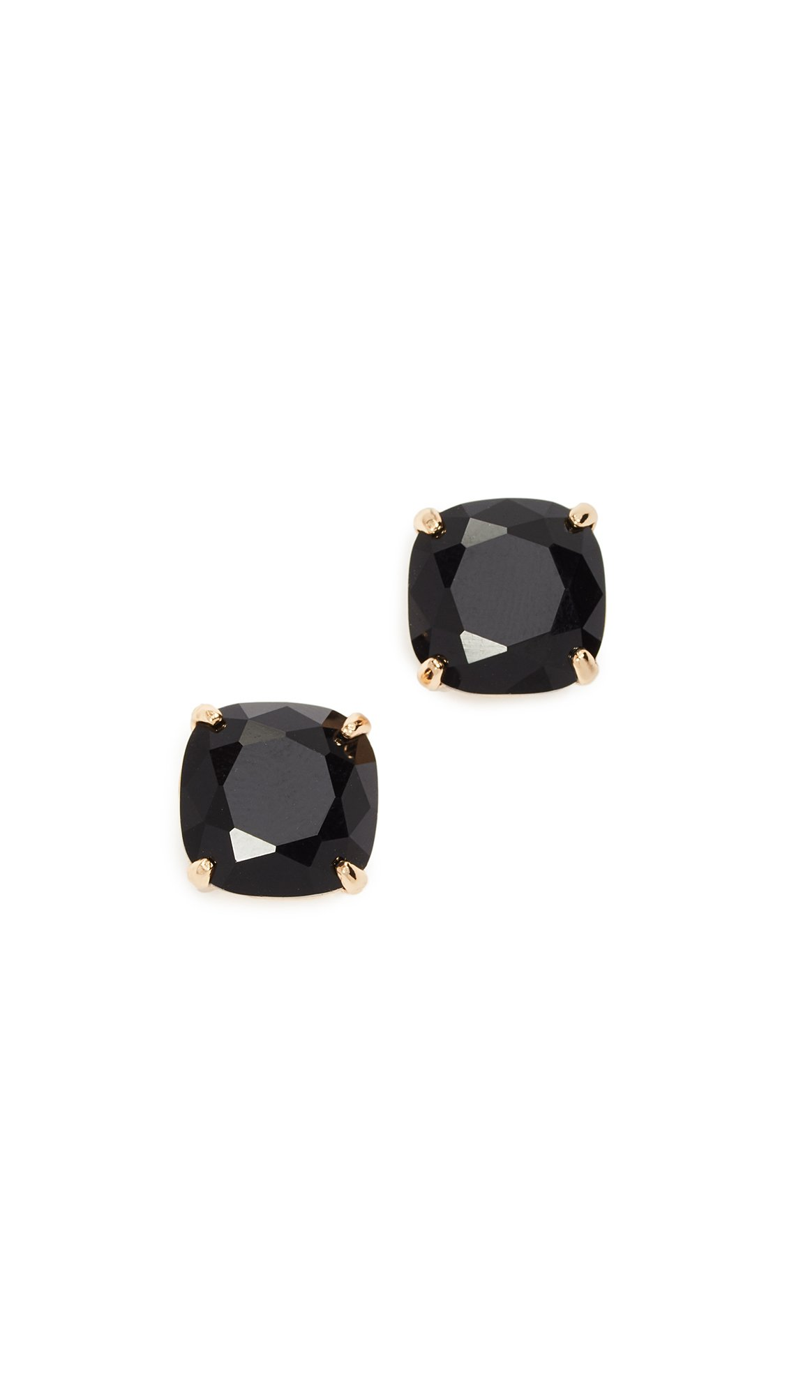 kate spade new york''Essentials'' Jet Small Square Studs