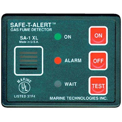 Safe T Alert Gas Vapor Fume Alarm - Surface Mount - Black - SA-1XL
