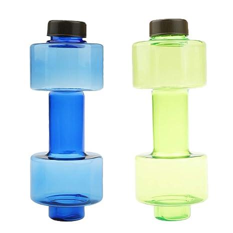 P Prettyia 2 Piezas de Mancuernas de Botella de Agua para Ejercicios de Músculos