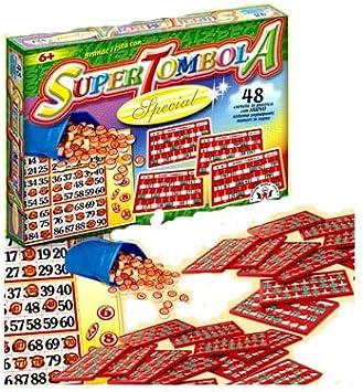 TOMBOLA SUPER SPECIAL 24 CARTELLE ARTI GRAFICHE
