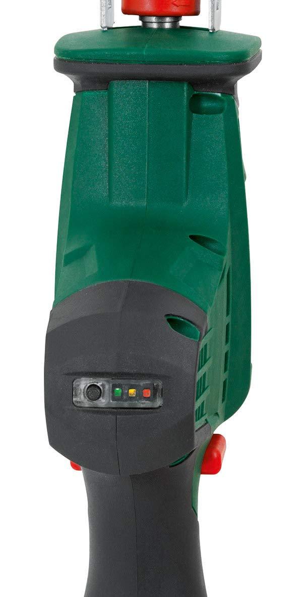 AAS 1080 Scie sauteuse sans fil avec batterie 10,8 V 2,0 Ah 2700 min Longueur de coupe 80 mm Longueur de coupe 20 mm Mandrin /à serrage rapide avec lames de scie