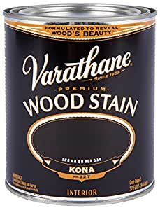 Rust-Oleum 254351 Varathane Oil Base Stain, Quart, Kona